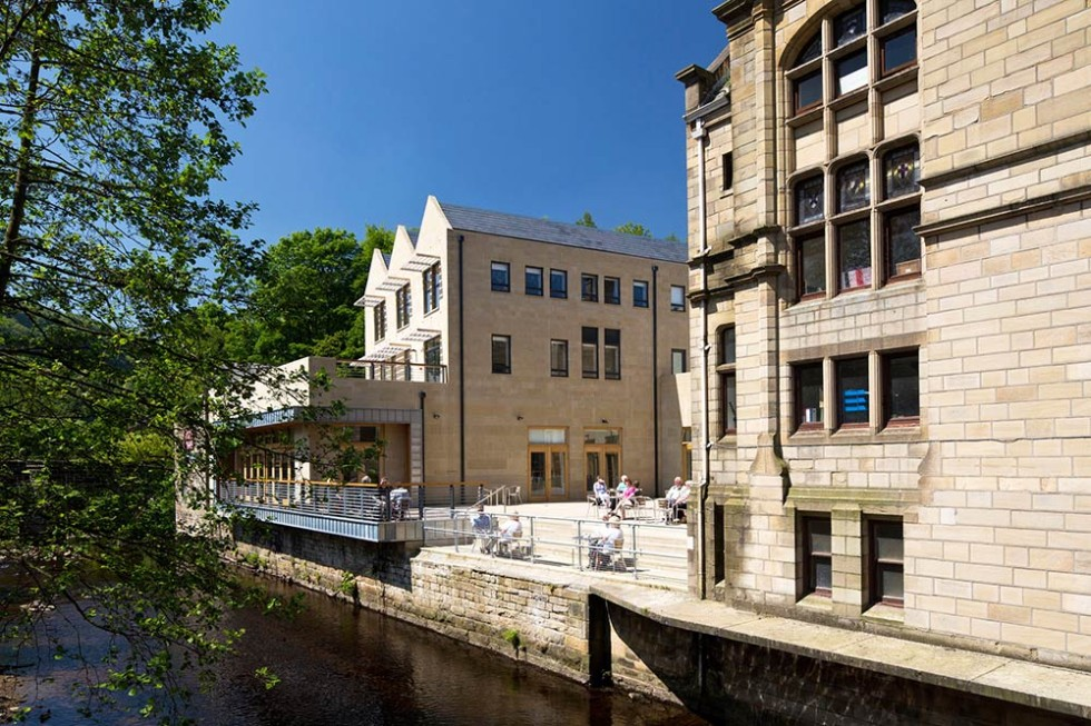 Hebden Bridge Town Hall Bauman Lyons Architects Leeds