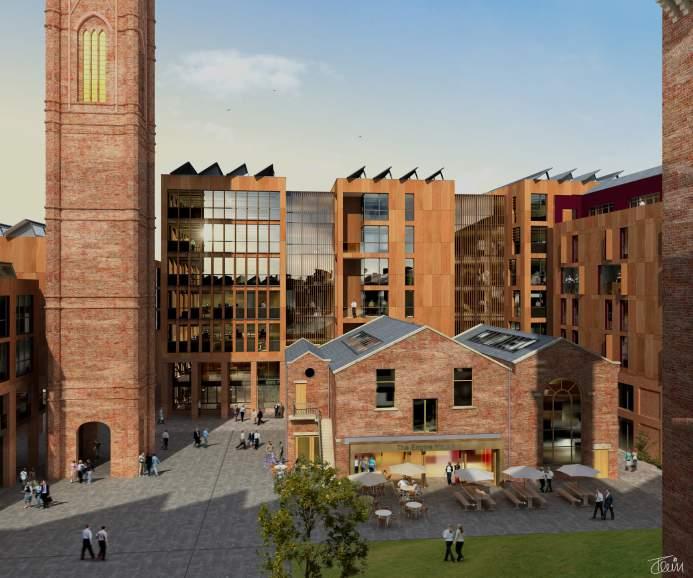 Tower Works Masterplan - Bauman Lyons Architects Leeds