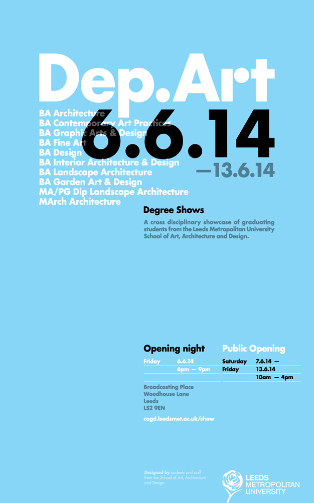 Leeds met degree show_June 2014