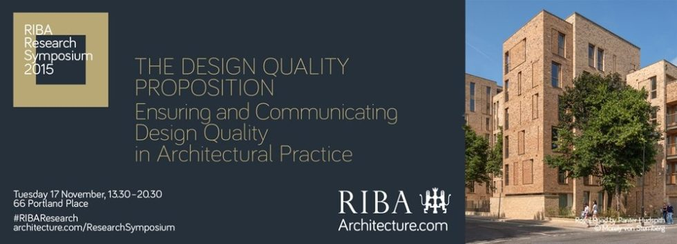 Research Symposium_RIBA