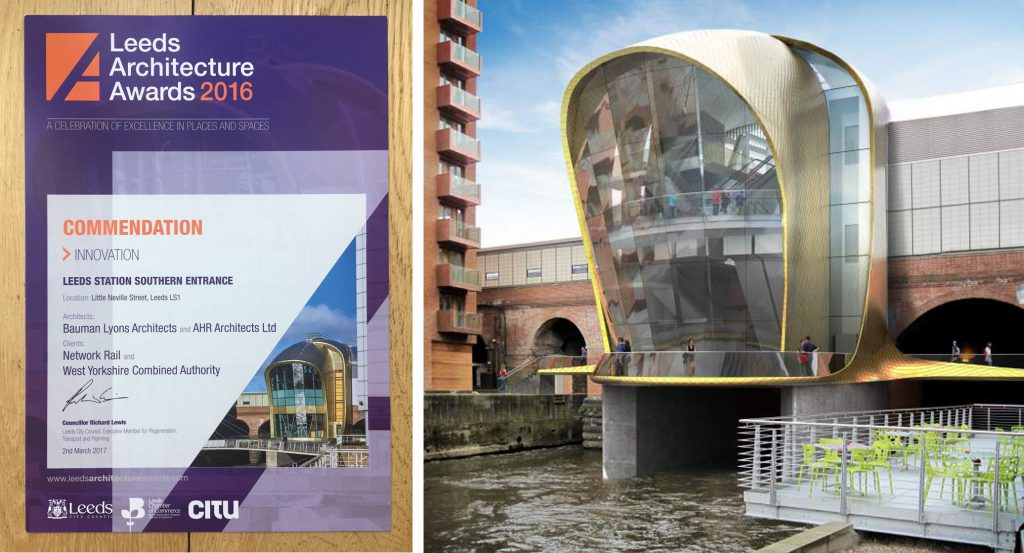 Leeds Architecture Award+South Link