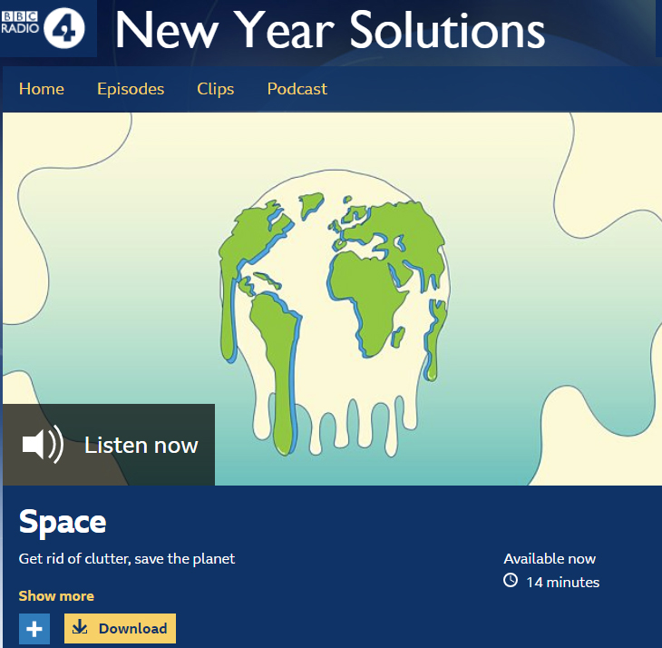 Radio 4 New Years Resolutions